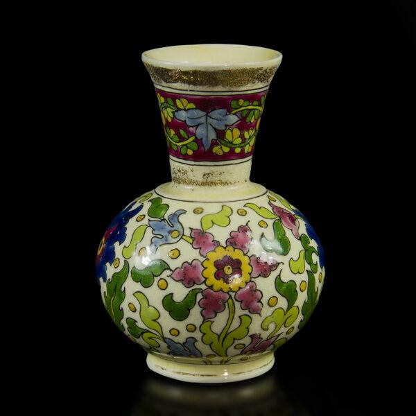 Fischer Ignác virágmintás váza
