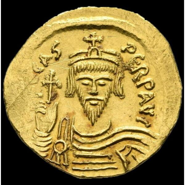 Phocas bizánci császár (Kr.u. 602-610) - Arany solidus